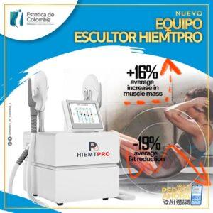 EQUIPO ESCULTOR HIEMPRO,EQUIPOS ESTETICOS EN COLOMBIA, ESTETICA DE COLOMBIA