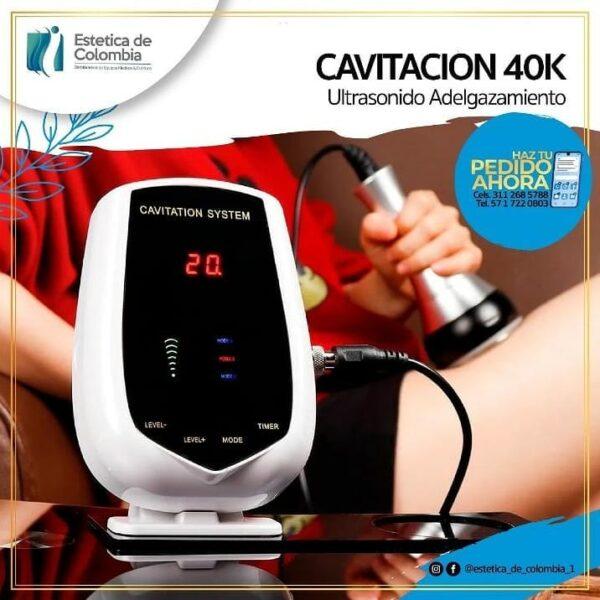 Cavitacion ultrasonica, equipos esteticos de colombia, estetica de colombia.